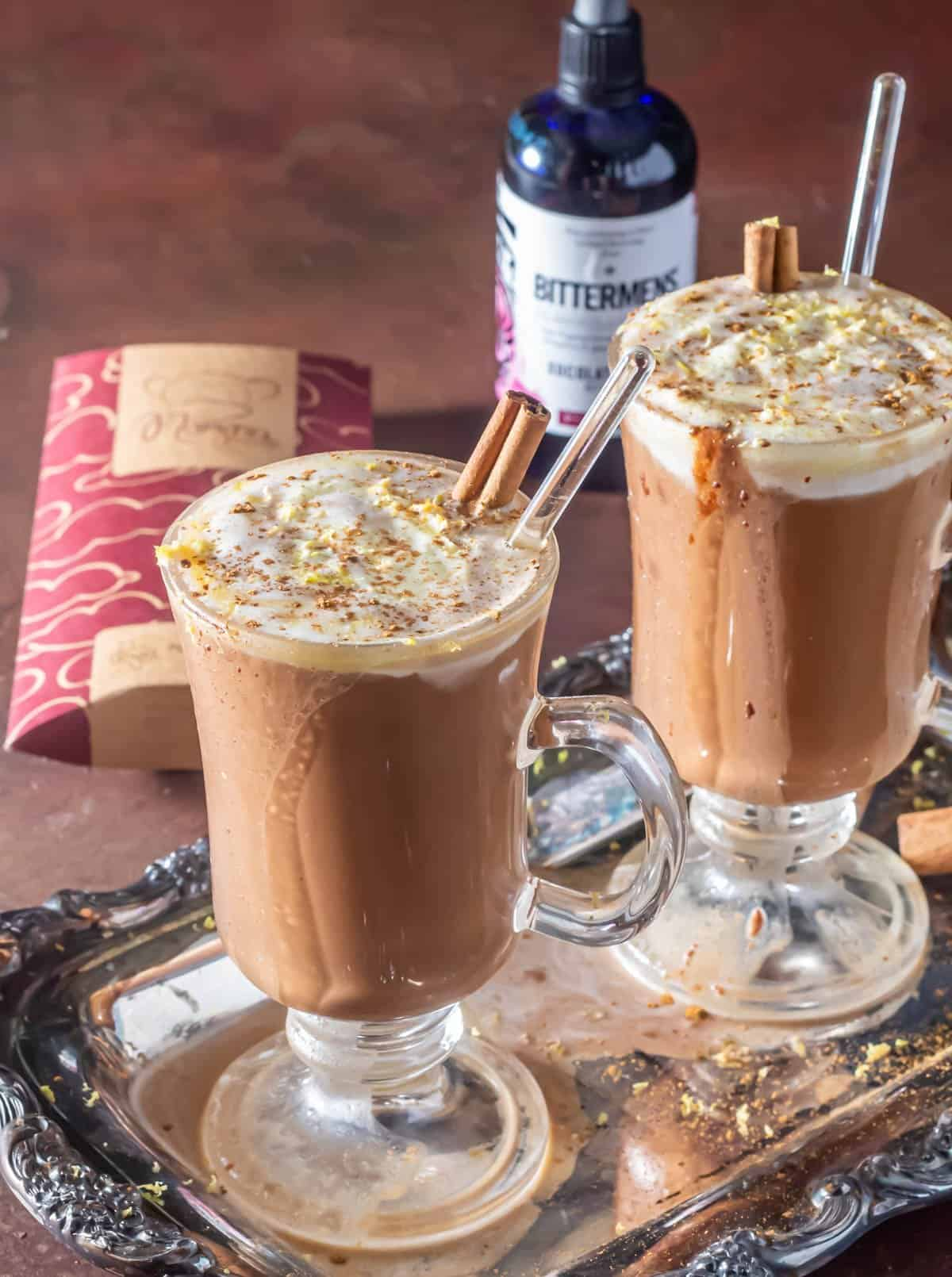 Brandy-Spiked Mexican Hot Chocolate