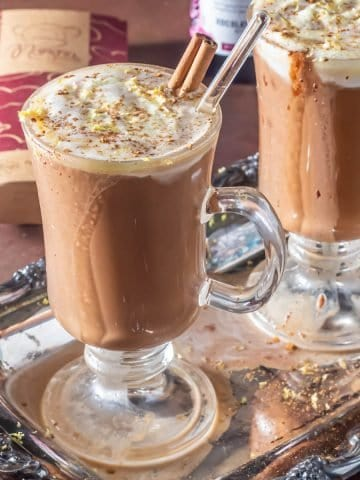 Brandy-Spiked Mexican Hot Chocolate Featured Image