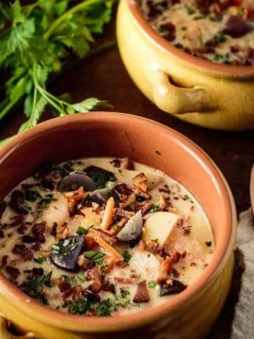 Healthy Corn and Shrimp Chowder Feature Image