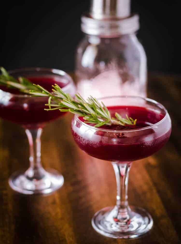 Savory Gin Cocktail with Cynar and Beet Juice Hero