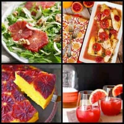 29 Breathtakingly Beautiful Blood Orange Recipes Valentines Day is Just Around the Corner!
