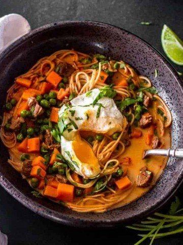 Peruvian Beef Noodle Soup Feature Image