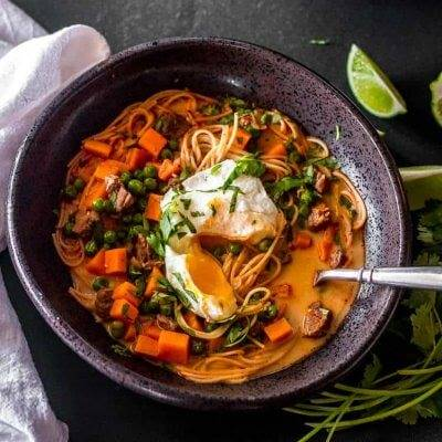 Peruvian Beef Noodle Soup (Sopa Criolla) North American-Style