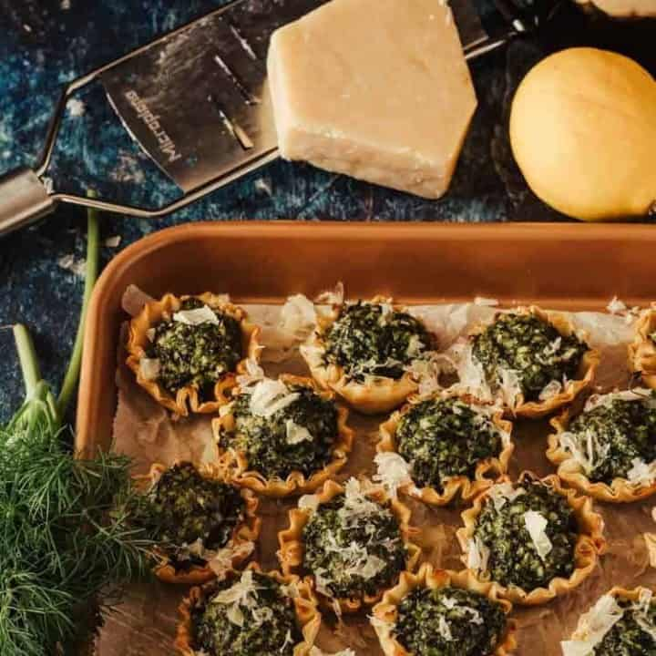 Easy Spanokopita Bites Feature Image