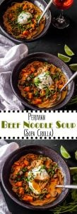 Peruvian Beef Noodle Soup Long Pin