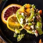 Avocado Heirloom Tomato Salad with Citrus Vinaigrette Feature Image