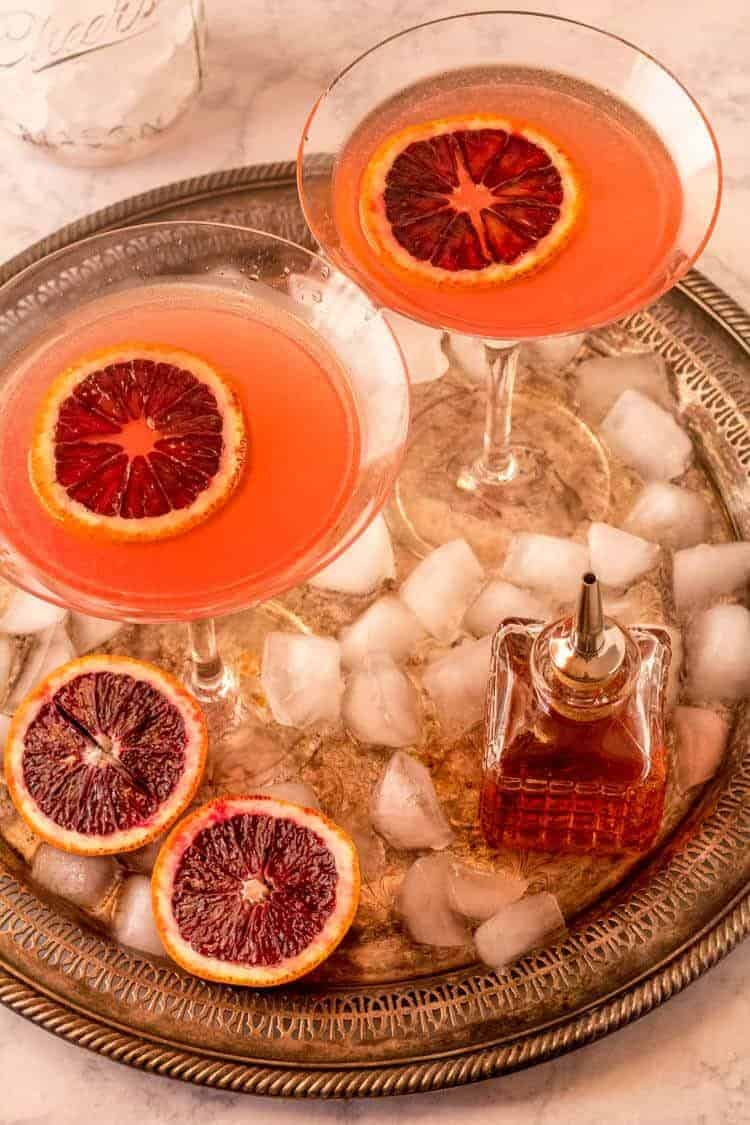 Orange Vesper Martini Recipe Birds Eye