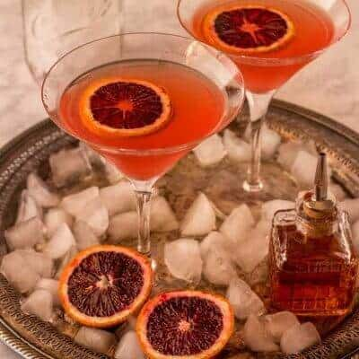 Orange Vesper Martini Recipe Grapefruit Works Too!