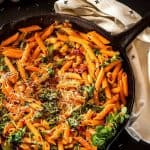 Beat the heat and the time required to cook dried beans on the stove by using your Instant Pot/Pressure Cooker to get the job done in a fraction of the time! Instant Pot Cannelini Beans with Penne, Baby Kale, and Slow Roasted Tomatoes uses those fiber and nutrient-rich beans in a super quick and easy pasta dish perfect for busy weeknights! Bob's Red Mill   Cannelini Beans   Instant Pot   Pressure Cooker   Pasta Recipes   Vegetarian Main Dish