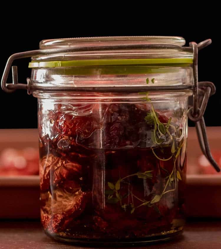 Simple Slow-Roasted Tomatoes In Oil