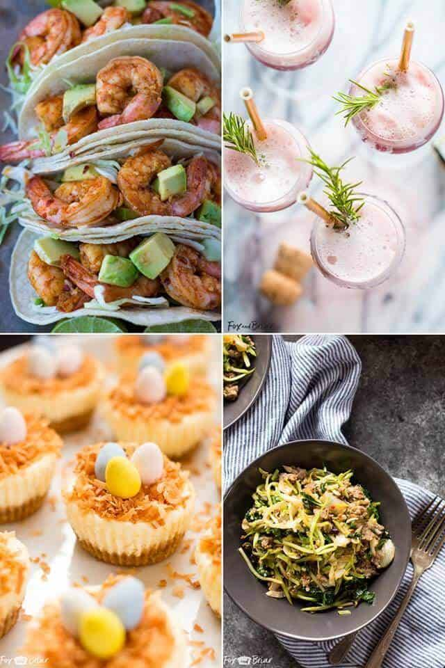 Fox and Briar's collage of best recipes!