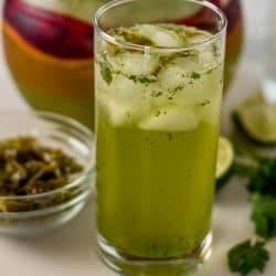 Jalapeño-Cucumber Fizz Mocktail