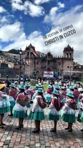 Fermented Peruvian Red Pepper Salsa - a festival on the streets of Cuzco!