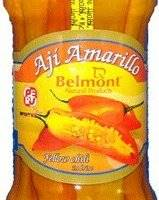 Belmont Aji Amarillo Entero - Yellow Chili In Brine 20oz.