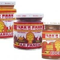 Inca's Food Mixed Sampler - Aji Amarillo, Aji Panca, and Aji Rocoto - (3) 7.5 Oz Jars