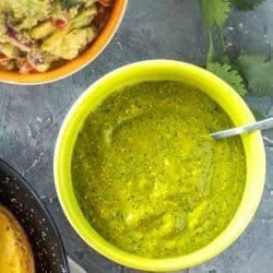 Peruvian Ají Verde Recipe (Green Chile Sauce)