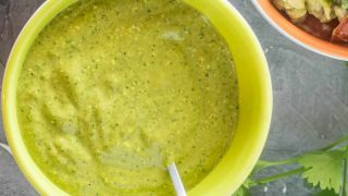 Peruvian Ají Verde Recipe (Green Chile Sauce)