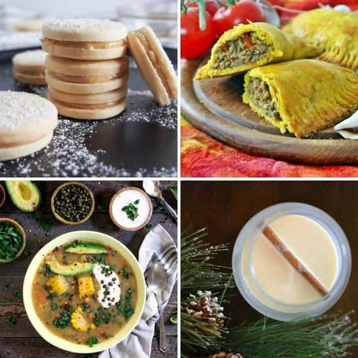 25 Outstanding Latin American Recipes features recipes from Central and South America as well as the Caribbean... Mains, Sides, Vegetarian, Desserts, and Drinks. #eatglobal #Latinfood #healthyglobal #Latinfood #Peruvianfood #Mexicanfood