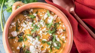 Peruvian Pumpkin Soup - Sopa de Calabazo