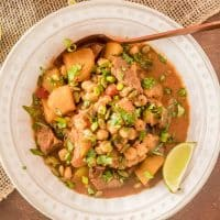 Mexican Pumpkin Stew with Pork and Hominy
