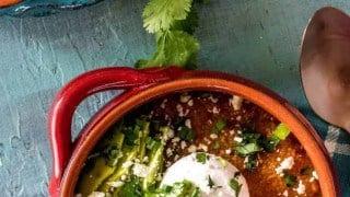 Healthy Chorizo Grits Breakfast Bowls