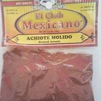 Achiote Molido Annatto Ground Bixa orellana bijol 2 oz