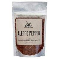 Aleppo Pepper : Subtle Smoky Flavor and just the right amount of Heat