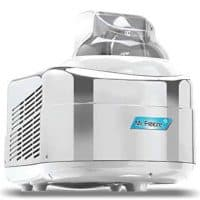 Mr. Freeze EIM-550 Maxi-Matic 1.5 Quart Ice Cream Maker with Compressor, White/Chrome