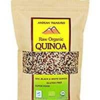 USDA ORGANIC PERUVIAN QUINOA TRICOLOR 1 LB (PACK OF 4) Black, Red & White Quinoa Kosher - Protein - SUPERFOOD