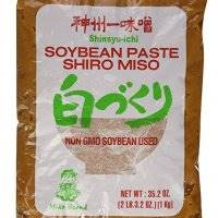 Shiro Miso Paste NON GMO No MSG Added Miko Brand 35.2oz by Miyasaka Brewery Co, Ltd [Foods] (Original Version)