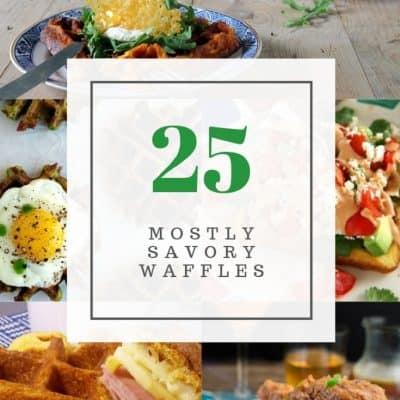 25 Mostly Savory Waffle Recipes
