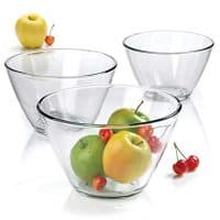 Anchor Hocking 3-Piece Contemporary Serving Bowl Set