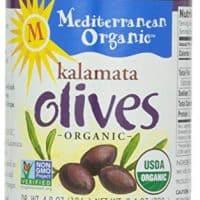 Mediterranean Organic Kalamata Olives, Pitted, 8.4 oz