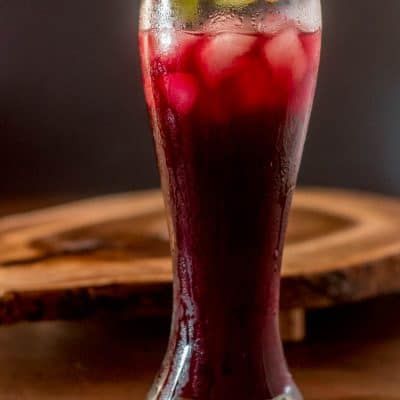 Peruvian Chicha Morada (Purple Corn Drink)
