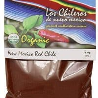 Los Chileros Organic New Mexico Red Chile, Powder, 4 Ounce (Packaging May Vary)