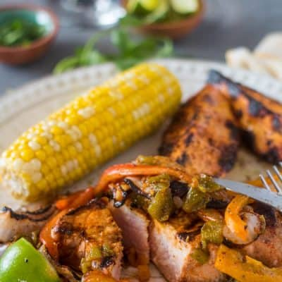 Citrus-Marinated Pork Chops with Hatch Chile