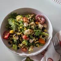 Southwest Chicken and Arugula Salad