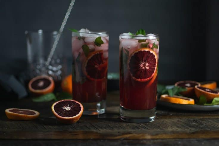 Recipe: Blood Orange Thai Mojito - Sweet + Savor