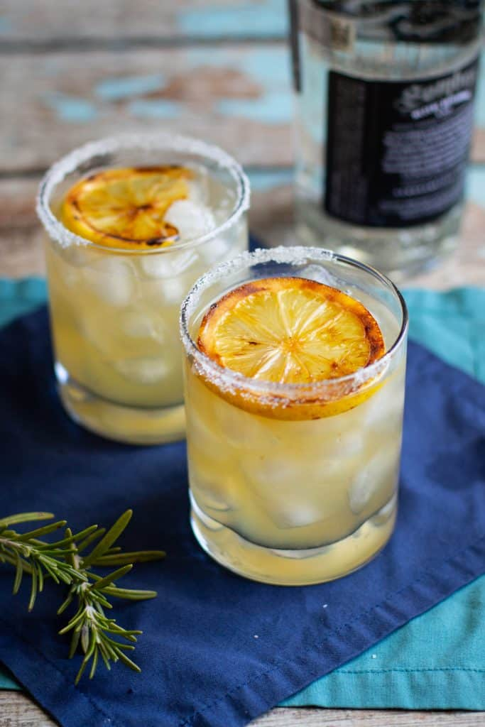 Smoky Grilled Mezcal Margaritas Recipe