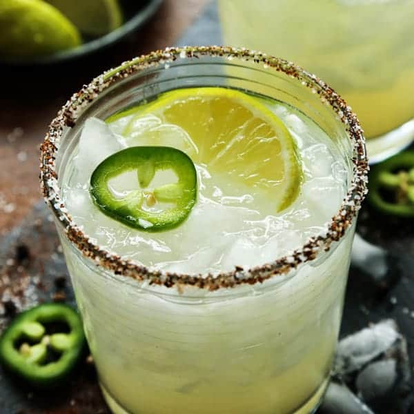 Jalapeno Mezcal Margarita • spicy and smoky! • a farmgirl's dabbles