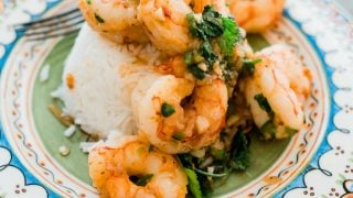 Mexican-Style Shrimp Scampi