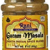 Rani Garam Masala Indian 11 Spice Blend 3oz (85g) Salt Free ~ All Natural   Vegan   Gluten Free Ingredients   NON-GMO   No Colors   Indian Origin
