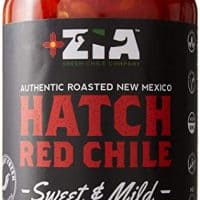 Original New Mexico Hatch Red Chile By Zia Green Chile Company - Delicious Flame-Roasted, Peeled & Diced Southwestern Certified Red Peppers For Salsas, Stews & More, Vegan & Gluten-Free - 16oz