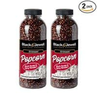 Black Jewell Hulless Crimson Popcorn Kernels 15 Oz (Pack of 2)