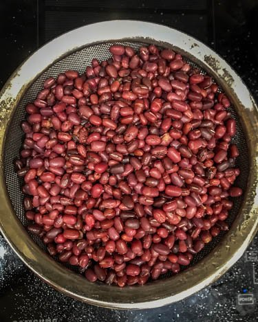 Step 1: Cook the adzuki beans in the Instant Pot.