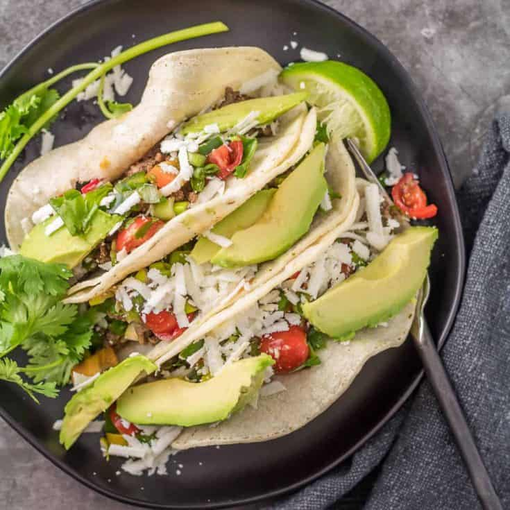 Easy Ground Lamb Tacos