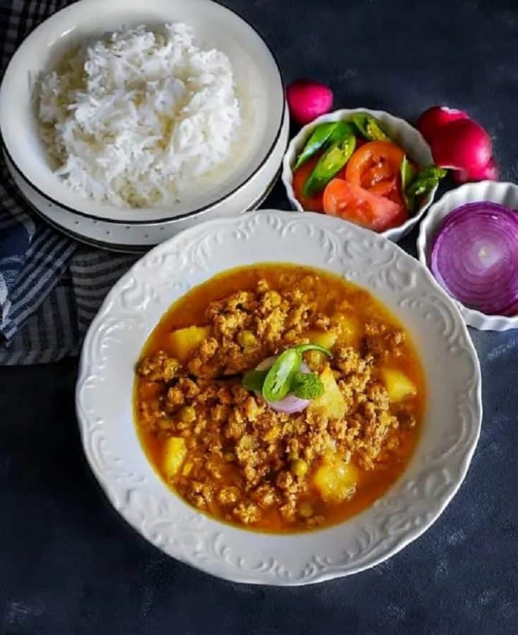 Best Indian Lamb Keema Curry