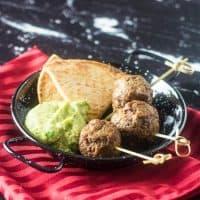 Mexican Lamb Meatballs