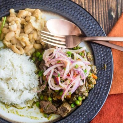 Slow Cooker Peruvian Lamb Stew