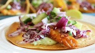 Fish Tacos with a 7up Batter
